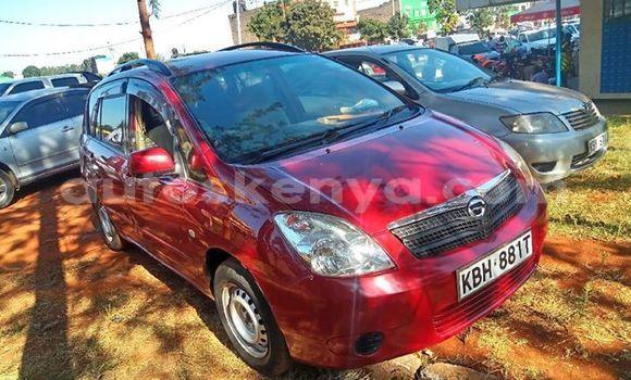 Buy Used Toyota Spacio Red Car in Nairobi in Nairobi