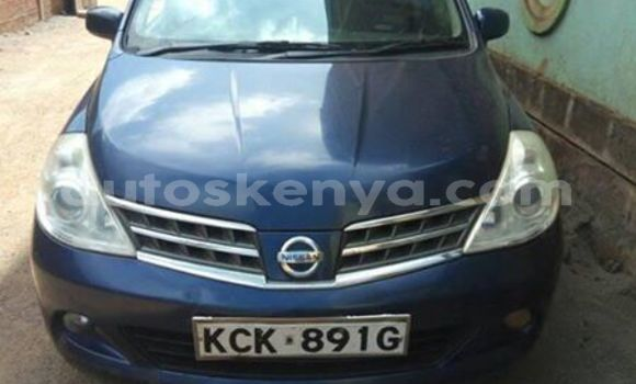 Buy Used Nissan tiida Blue Car in Nairobi in Nairobi