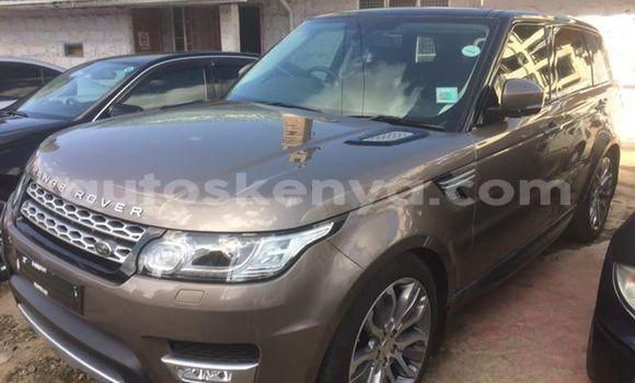 Buy Used Land Rover Range Rover Sport Brown Car in Nairobi in Nairobi