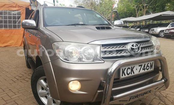 Buy Used Toyota Fortuner Beige Car in Nairobi in Nairobi