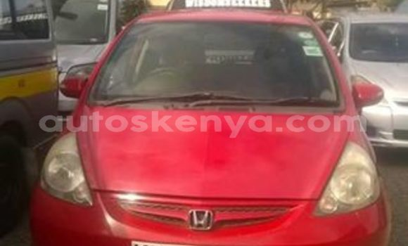 Buy Used Honda Fit Red Car in Nairobi in Nairobi