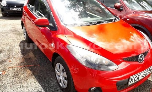 Buy Used Mazda Demio Red Car in Nairobi in Nairobi
