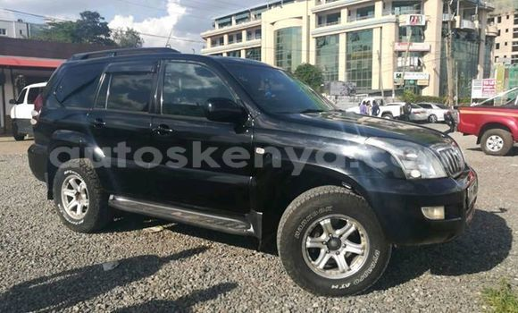 Buy Used Toyota Land Cruiser Prado Black Car in Nairobi in Nairobi