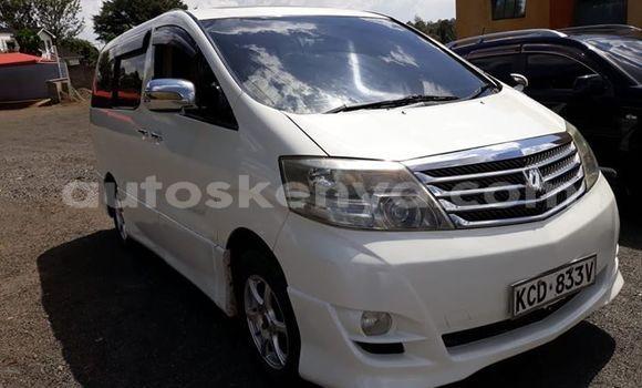 Buy Used Toyota Alphard White Car in Nairobi in Nairobi