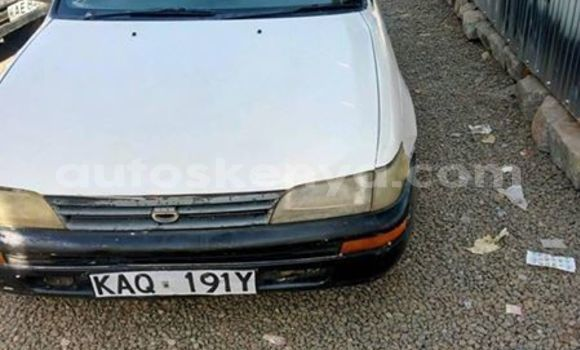 Buy Used Toyota Corolla White Car in Thika in Nairobi