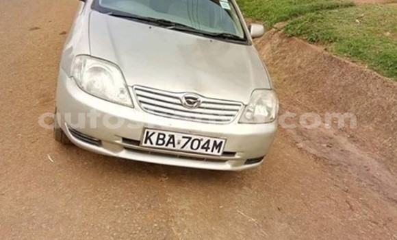 Buy Used Toyota Corolla Silver Car in Thika in Nairobi