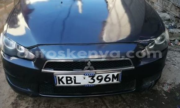 Buy Used Mitsubishi Lancer Blue Car in Nairobi in Nairobi