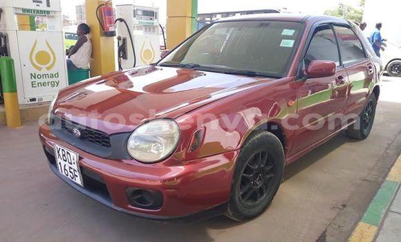 Buy Used Subaru Impreza Red Car in Nairobi in Nairobi