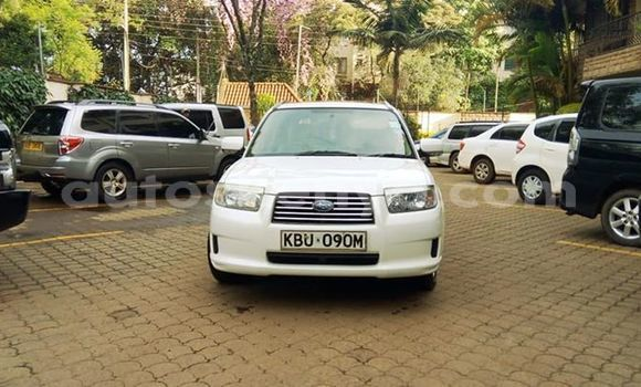 Buy Used Subaru Forester White Car in Nairobi in Nairobi