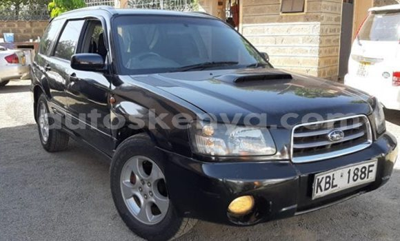 Buy Used Subaru Forester Black Car in Nairobi in Nairobi