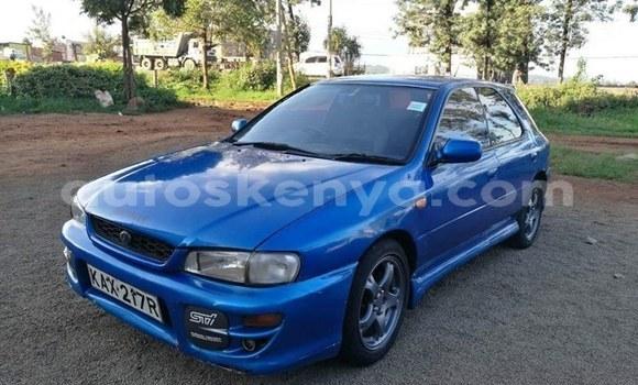 Buy Used Subaru Impreza Blue Car in Nairobi in Nairobi