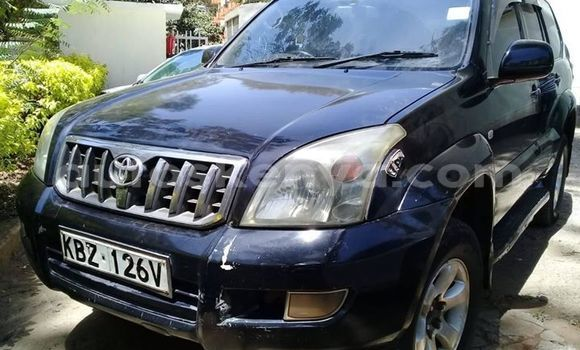 Buy Used Toyota Land Cruiser Prado Blue Car in Nairobi in Nairobi