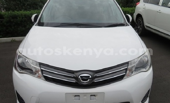 Buy Used Toyota Axio White Car in Mombasa in Coastal Kenya