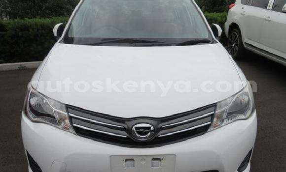 Buy Used Toyota Axio White Car in Mombasa in Coastal Kenya