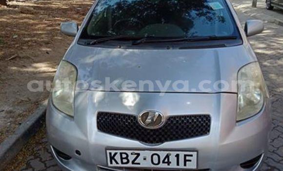 Buy Used Toyota Vitz Silver Car in Nairobi in Nairobi