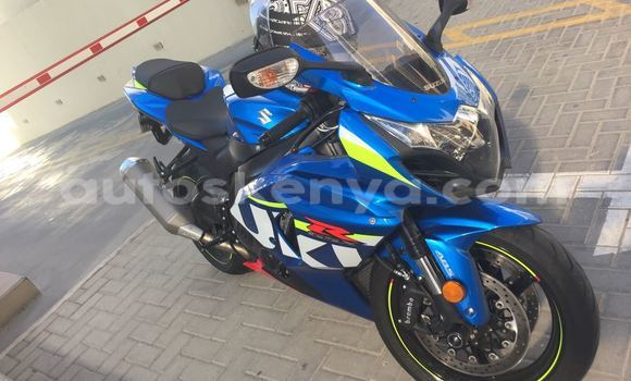 Buy Used Suzuki GSX-R Blue Bike in Busia in West Kenya