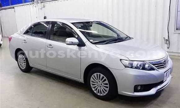 Buy Used Toyota Allion Silver Car in Mombasa in Coastal Kenya