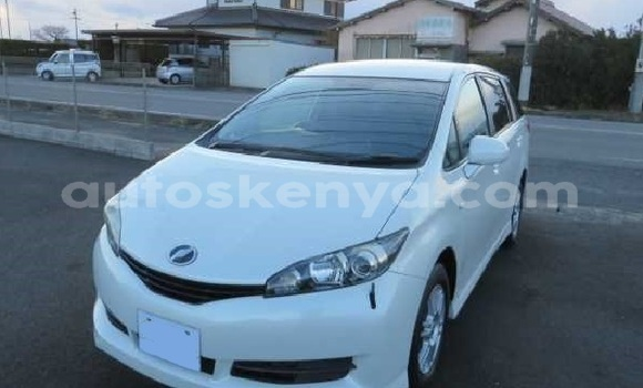 Buy Used Toyota Wish White Car in Mombasa in Coastal Kenya