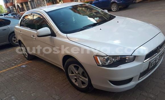 Buy Used Mitsubishi Lancer White Car in Nairobi in Nairobi