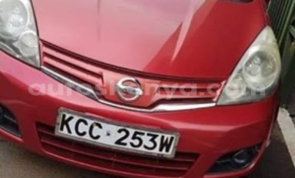 Buy Used Nissan Note Red Car in Nairobi in Nairobi