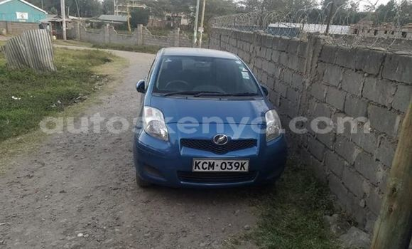 Buy Used Toyota Vitz Blue Car in Nairobi in Nairobi