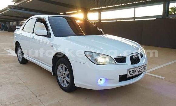 Buy Used Subaru Impreza White Car in Nairobi in Nairobi