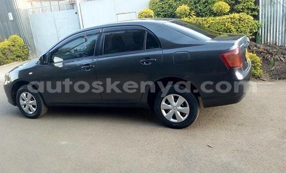 Buy Used Toyota Axio Black Car in Nairobi in Nairobi
