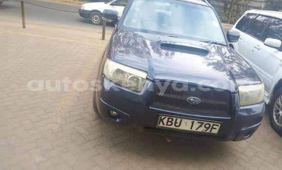 Buy Used Subaru Forester Blue Car in Nairobi in Nairobi