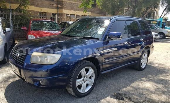 Buy Used Subaru Forester Blue Car in Nairobi in Nairobi