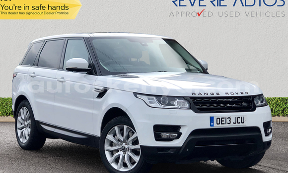 Buy Used Land Rover Range Rover Sport White Car in Nairobi in Nairobi