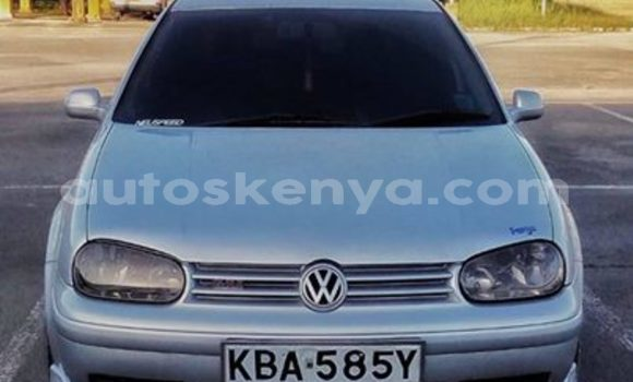 Buy Used Volkswagen Golf Silver Car in Nairobi in Nairobi