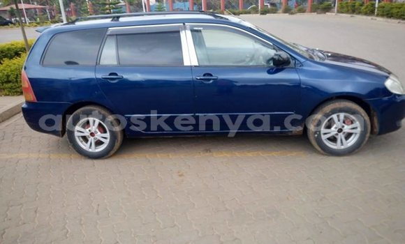 Buy Used Toyota Fielder Blue Car in Nairobi in Nairobi