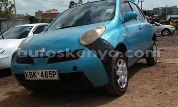 Buy Used Nissan March Blue Car in Nairobi in Nairobi