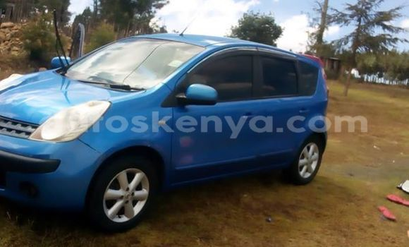 Buy Used Nissan Note Blue Car in Nakuru in Rift Valley