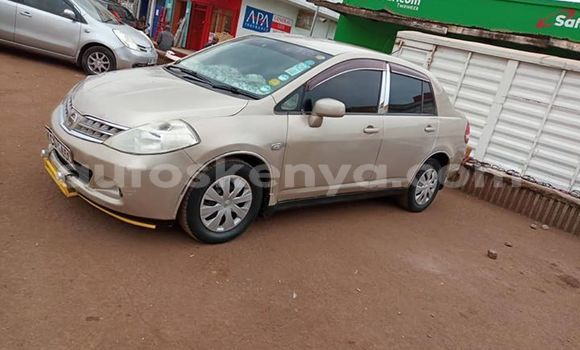 Buy Used Nissan tiida Beige Car in Kiambu in Central Kenya