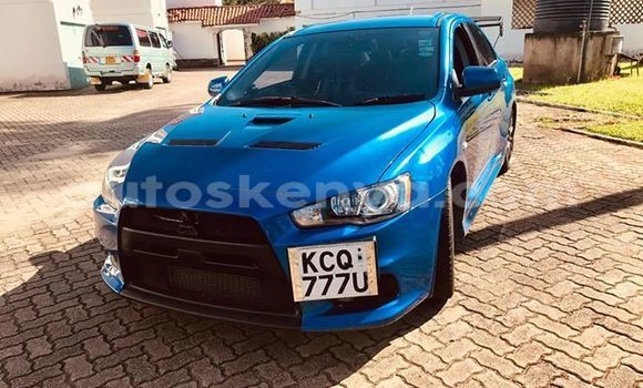 Buy Used Mitsubishi Lancer Blue Car in Mombasa in Coastal Kenya