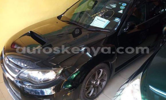 Buy Used Subaru Impreza Black Car in Mombasa in Coastal Kenya