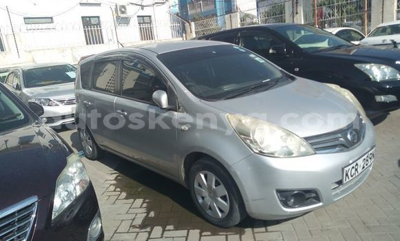 Buy Used Nissan Note Silver Car in Mombasa in Coastal Kenya