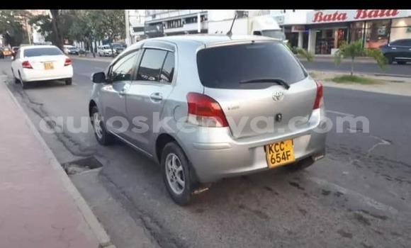 Buy Used Toyota Vitz Silver Car in Mombasa in Coastal Kenya