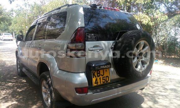 Buy Used Toyota Land Cruiser Prado Silver Car in Nairobi in Nairobi