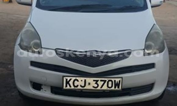 Buy Used Toyota Ractis White Car in Mombasa in Coastal Kenya