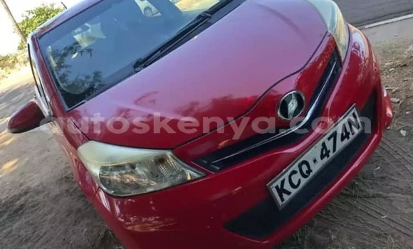Buy Used Toyota Vitz Red Car in Mombasa in Coastal Kenya