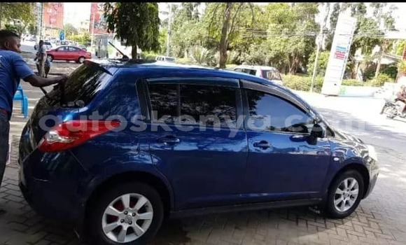 Buy Used Nissan tiida Blue Car in Mombasa in Coastal Kenya