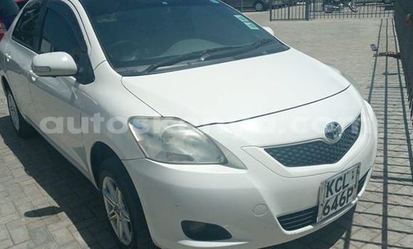 Buy Used Toyota Belta White Car in Mombasa in Coastal Kenya