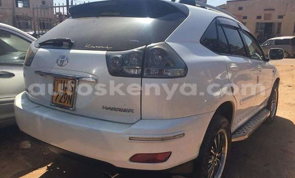 Buy Used Toyota Harrier White Car in Mombasa in Coastal Kenya