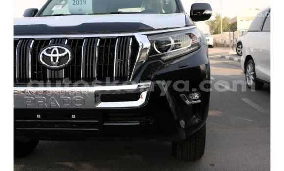 Buy Import Toyota Prado Black Car in Import - Dubai in Central Kenya