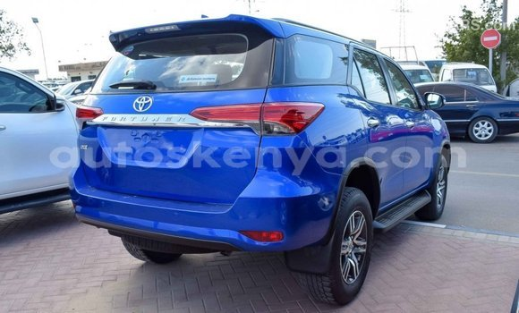 Buy Import Toyota Fortuner Blue Car in Import - Dubai in Central Kenya
