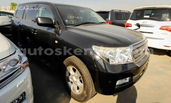 Buy Import Toyota Land Cruiser Black Car in Import - Dubai in Central Kenya