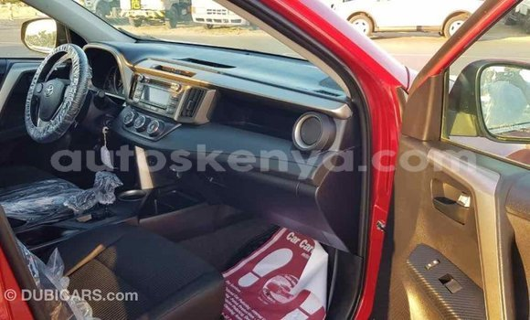 Buy Import Toyota RAV4 Red Car in Import - Dubai in Central Kenya