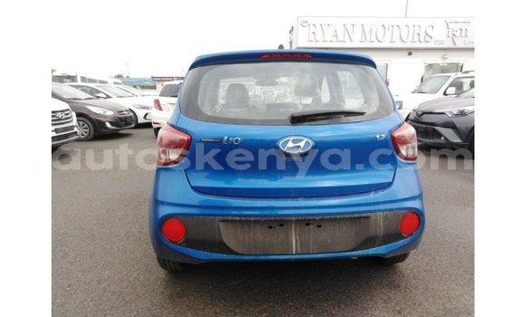 Buy Import Hyundai i10 Blue Car in Import - Dubai in Central Kenya